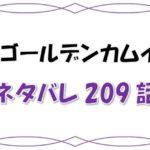 最新ネタバレ『ゴールデンカムイ』209-210話!考察!巣立ちの時!チカパシ魂受け継ぎ勃つ!