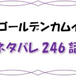 最新ネタバレ『ゴールデンカムイ』246-247話!考察!杉元土方ら再び協力関係へ!しかしアシリパに問題発生!